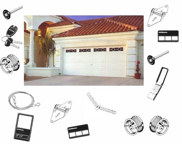 Garage Door Motor Parts Parts Garage Door Opener