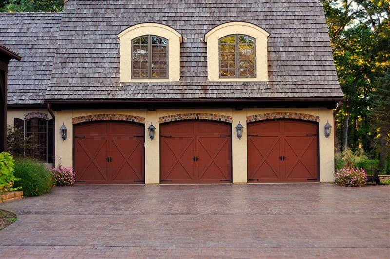 Fiberglass Garage Doors : Carriage door at smart doors your house overlay