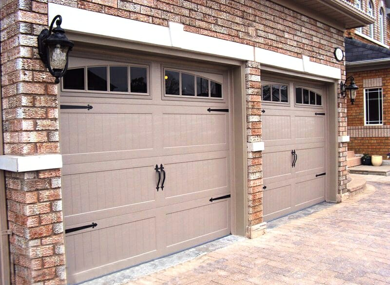 Carriage door in toronto at smart doors your carriage for Carriage style garage doors prices