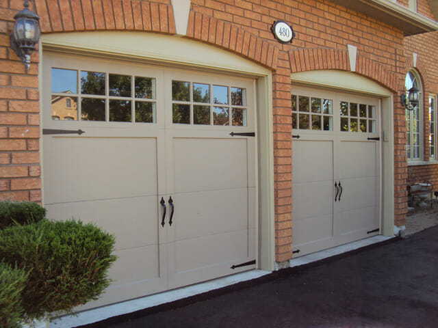 Garage door spring repair service in toronto mississauga for Fiberglass doors pros and cons