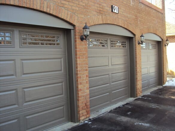 Richmond Hill Garage Door Raised Panels At Smart Doors
