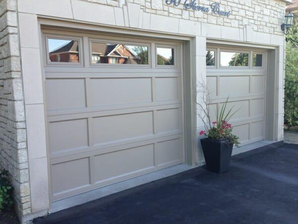 Recessed Panel Garage Door1 Toronto Garage Doors Company