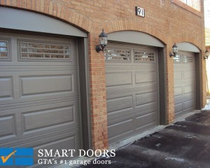 Garage Doors Capping and Siding