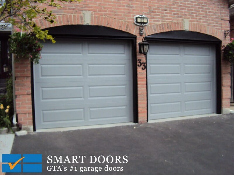 Long Panel Garage Doors Toronto Garage Doors Company Modern