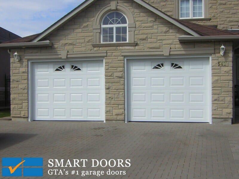 custom garage doors or standard garage doors?