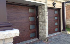 modern garage doors security