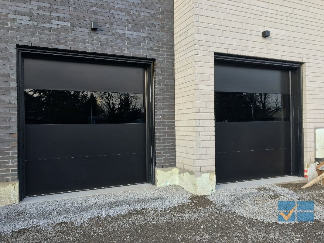 Modern Garage Door Installation In Maple Smartdoors