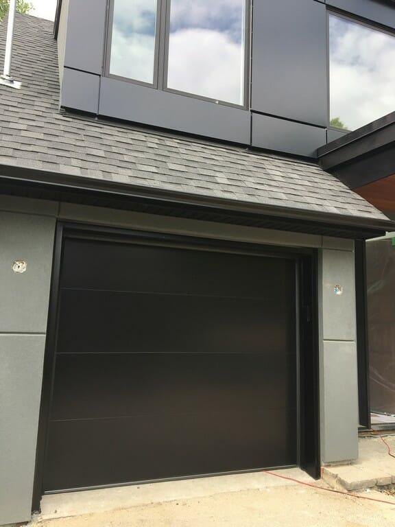 Modern Garage Doors Project In Toronto Smart Doors