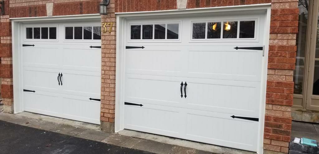 barn styled garage door by smart doors
