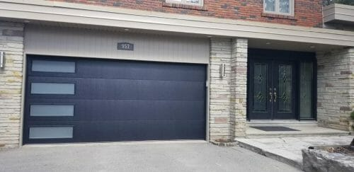fiber glass garage door by smart doors