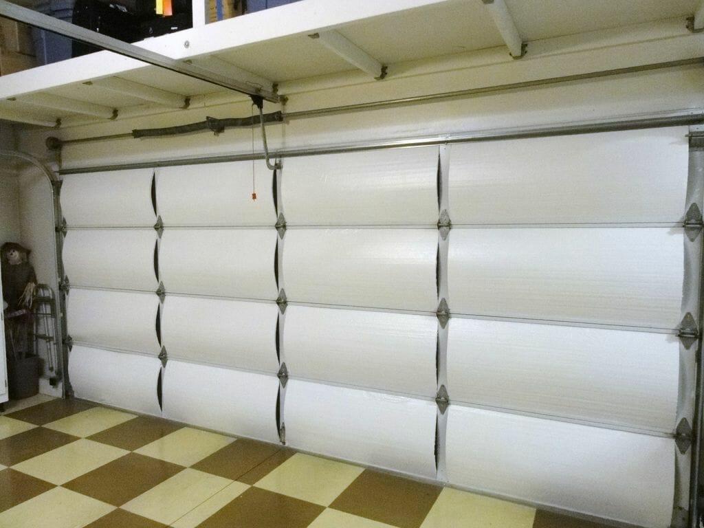 insulated energy efficient garage doors